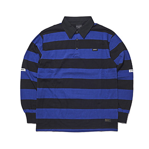CL02 (collar) long sleeve blue/black